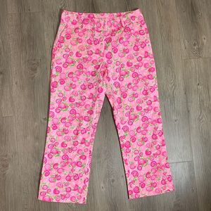 Lilly Pulitzer Pink Snail Pants